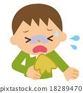 呕吐 儿童 孩子 18289470
