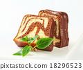 Marble pound cake 18296523