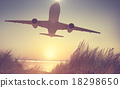Airplane Plane Flying Aircraft Transportation Travel 18298650