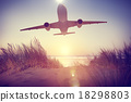 Airplane Plane Flying Aircraft Transportation Travel 18298803