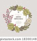聖誕節 聖誕 裝飾 18300148