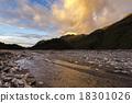 冰川 日落 夕阳 18301026