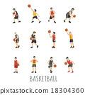 Young Basketball player 18304360