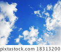 Blue sky between sky and clouds 18313200