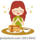 烙餅 煎餅 咖啡 18314642