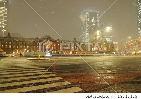Snow Tokyo Station 18315125