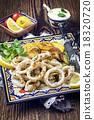 squid cuttlefish fried 18320720