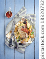 Codfish Filet with Vegetable 18320732