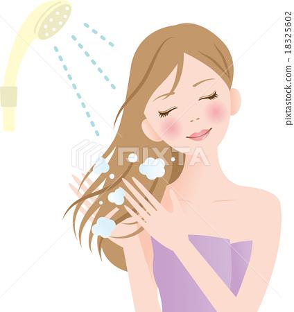 洗髮精 女性 女 18325602