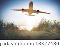 Airplane Plane Flying Aircraft Transportation Travel 18327480