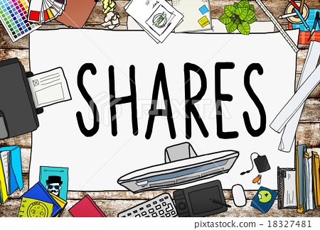 Shares Sharing Help Give Dividend Concept 18327481