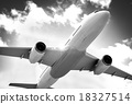 Airplane Plane Flying Aircraft Transportation Travel 18327514