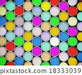 Colorful paint cans 18333039