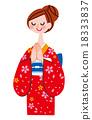 kimono, female, females 18333837