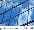 Office building sky and cloud reflection 18333846