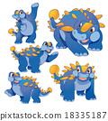 Cute ankylosaurus 18335187