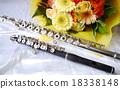 長笛 木管樂器 器具 18338148