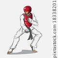 Taekwondo. Martial art 18338201
