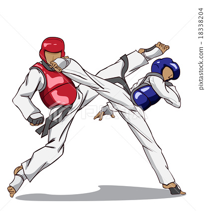 Taekwondo. Martial art 18338204