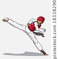 Taekwondo. Martial art 18338296