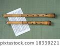 日本傳統樂器 錄音機 木管樂器 18339221