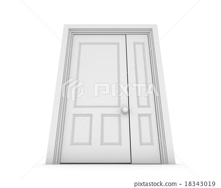White door 18343019