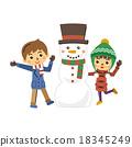 younger, snowman, snowmen 18345249