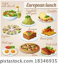 vector, food, lunch 18346935