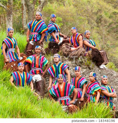 Ecuadorian Folkloric Group 18348196