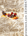 Whitewater River Rafting Boat Adventure 18348647