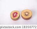 猕猴桃红色和金色 18350772