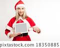 女圣诞老人 18350885