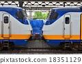 火車 鏈接 電氣列車 18351129