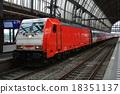火車 阿姆斯特丹 電氣列車 18351137