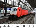 火車 阿姆斯特丹 電氣列車 18351138