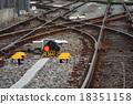 踪跡 鐵路 跑道 18351158