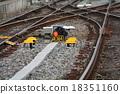 踪跡 鐵路 跑道 18351160