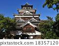 히로시마 성 천수각 18357120