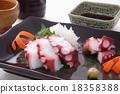 章魚 生魚片 刺身 18358388