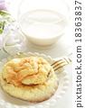 蜜瓜包 麵包 親暱的 18363837