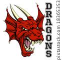dragon, dragons, vector 18365353