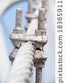 The wire metal rope bridge 18365911