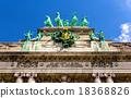 Sculptures on Arcade du Cinquantenaire in Brussels 18368826
