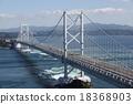 鳴門海峽 漩渦 吊橋 18368903