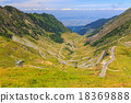 Transfagarasan mountain road, Romanian Carpathians 18369888