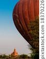 bagan, balloon, pagoda 18370226