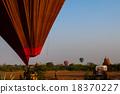 bagan, balloon, myanmar 18370227
