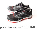 New unbranded running shoe color black and red 18371608