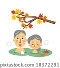 温泉 年长 情侣 18372291