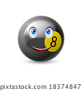 Billiard ball 18374847